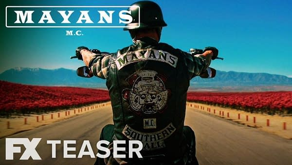 FX Premieres First Teaser For Mayans MC, Sons of Anarchy Spin-Off