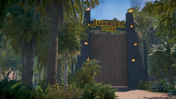 Someone Recreated Jurassic Park Using Far Cry 5's Map Editor