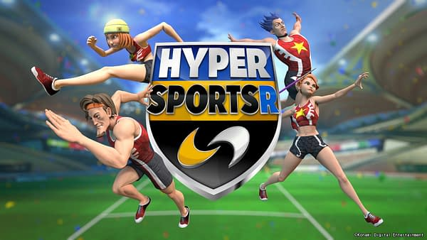 Konami Unveil Their Latest Sports Title For the Switch: Hyper Sports R