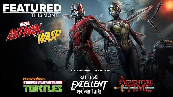 "Loot Crate Promises ""Team-Ups"" in July with Ant-Man and The Wasp"
