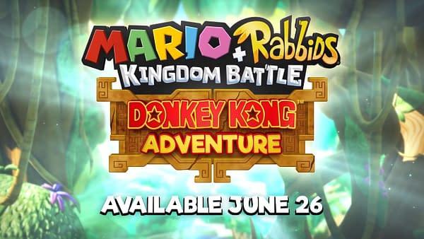 Ubisoft Unveils a New Mario + Rabbids: Kingdom Battle Donkey Kong DLC Trailer