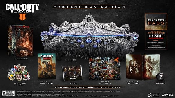 Treyarch Unveils Black Ops 4 Mystery Box and More Zombies Details at SDCC