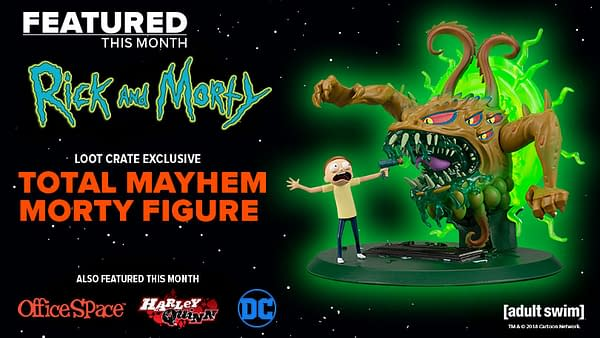 Loot Crate Go Big on Rick & Morty and DC For July's Mayhem Crates