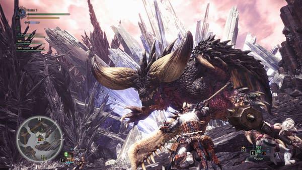 Capcom Releases MonsterHunter:World on PC Today