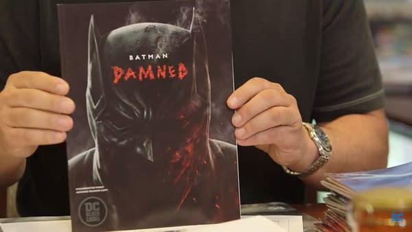 DC Comics' Black Label Series to Be Oversized – Starting with Batman: Damned