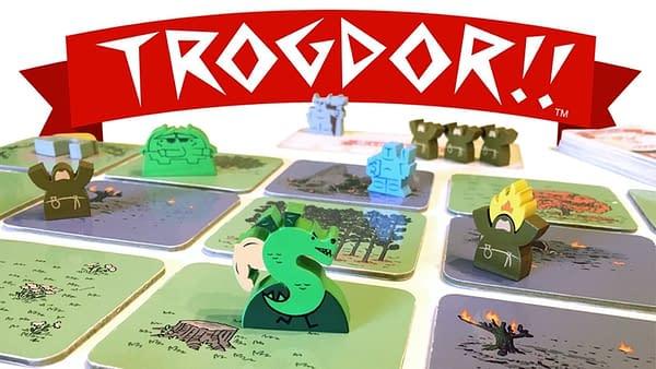 Trogdor!! The Board Game Receives Full Funding on Kickstarter