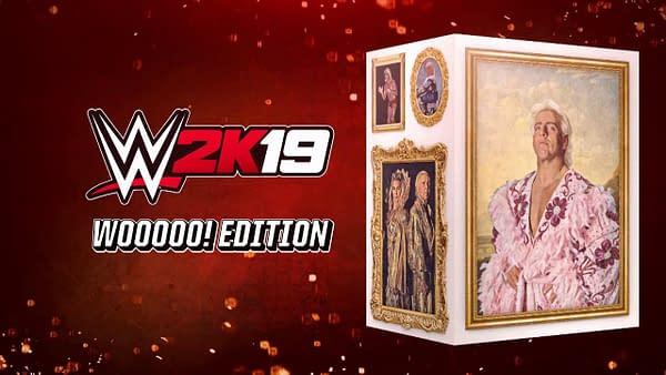 "WWE 2K19 Receives a ""Wooooo! Edition"" Featuring the Legendary Ric Flair"