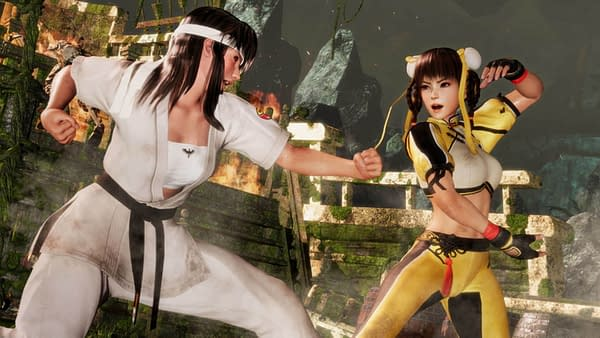 Someone Leaked Photos of Hitomi and Leifang in Dead or Alive 6