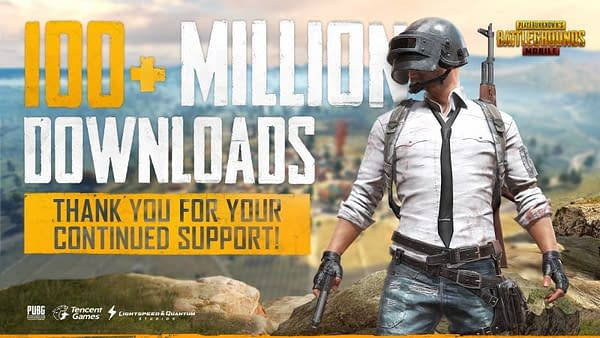 PUBG Mobile Boasts 100 Million Downloads Since Launch