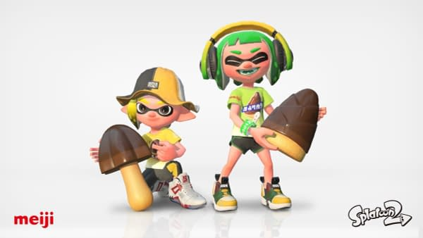 The Next Splatoon 2 Splatfest in Japan Will be Over a Love of Chocolates