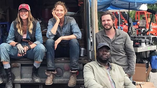 "'Fear the Walking Dead' Showrunners Talk Morgan's New Season 4 ""Friends"""