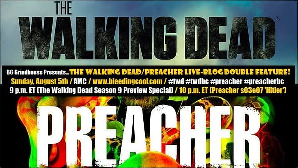 BC Grindhouse Presents… The Walking Dead/Preacher Live-Blog Double Feature!