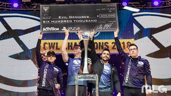 Evil Geniuses Crowned Call of Duty World League 2018 Champions