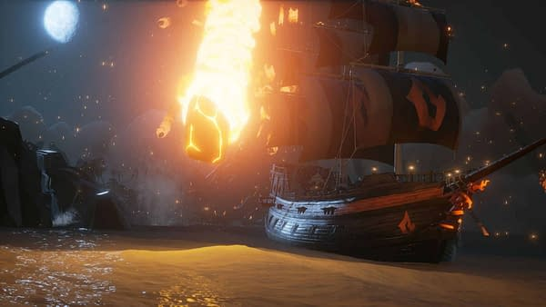 Sea of Thieves Officially Adds the Forsaken Shores Update