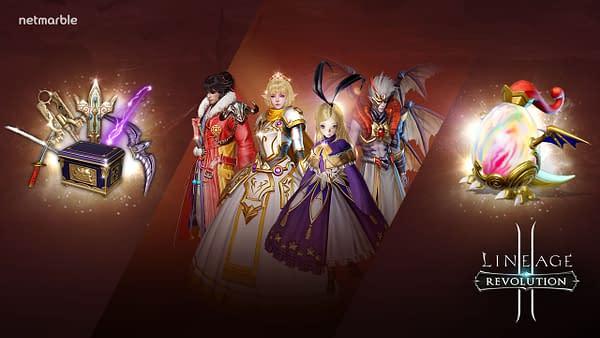 Lineage 2: Revolution Announces Surprise Collaboration Event