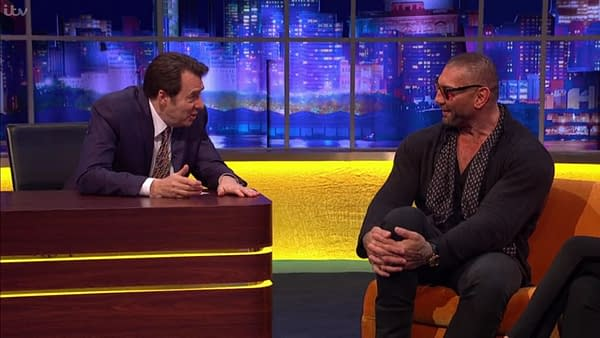 """Dave Bautista: """"I Don't Know If I Want to Work with Disney"""""""