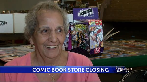 Sunrise Comics 81-Year-Old Owner Closes Store After Almost 40 Years