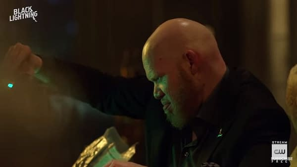 Black Lightning: Jones on Tobias' Influence and THAT Briefcase, Adams Reveals Favorite Scene