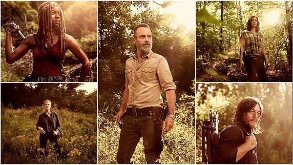 "The Walking Dead: Melissa McBride on ""Caryl,"" Lauren Cohan on Maggie/Michonne, Cast on Rick's Final Eps"
