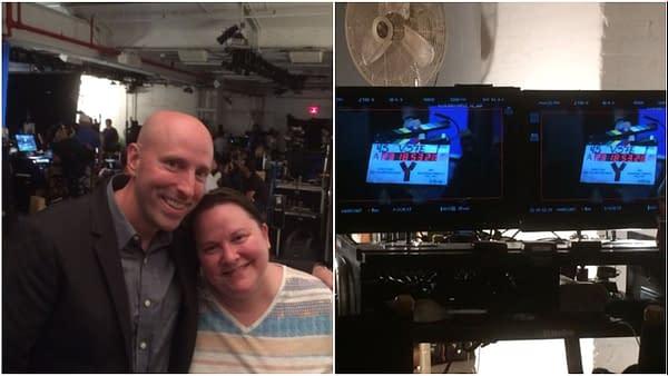 Y: Brian K. Vaughan, Pia Guerra Reunite On Set of FX's 'Y: The Last Man' Pilot