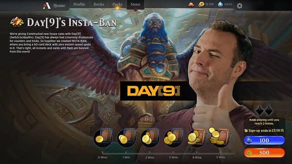 Magic: The Gathering Arena to Add Direct Challenge and Streamer Events