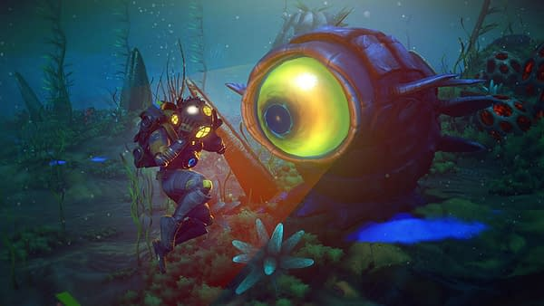 """No Man's Sky Releases New Underwater Update with """"The Abyss"""""""