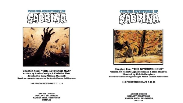 Chilling Adventures of Sabrina Season 1, Episode 9 'The Returned Man'/Episode 10 'The Witching Hour': The Devil's In the Details