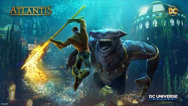 Daybreak Games Adds Atlantis Event into DC Universe Online