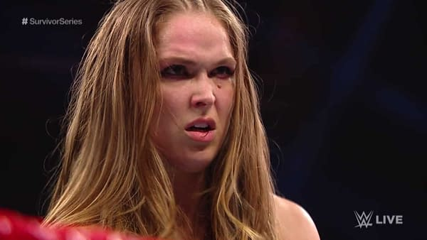 Old Man Rousey Still Yelling at Clouds; Becky Lynch Responds