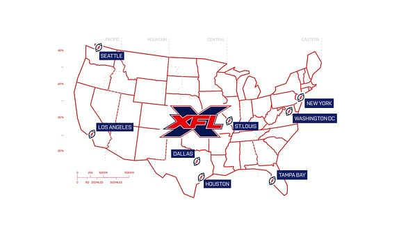 Here's the 8 Lucky(?) Cities That Will Get an XFL Football Franchise
