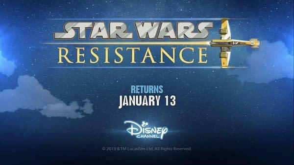 'Star Wars Resistance' Gets Season 2 Renewal and Mid-Season 1 Trailer