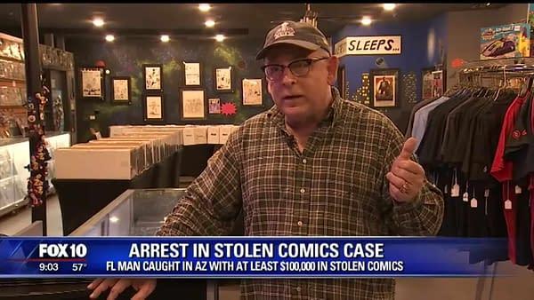 How Comics Retailer Chatter Caught The Stolen Batman Comics Suspect