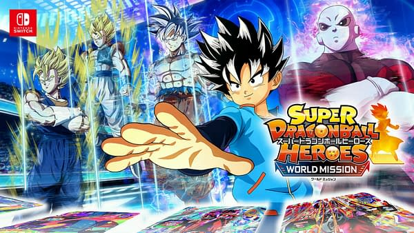"""Super Dragon Ball Heroes World Mission"" Receives Fifth Update"