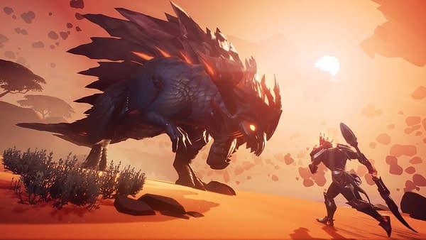 Dauntless Adds Dire Behemoth, Customization, and UI in New Update