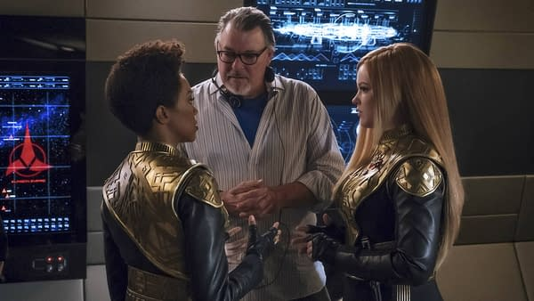 "'Star Trek: Discovery': Jonathan Frakes Says ""Gene Would Be Very, Very Pleased"""