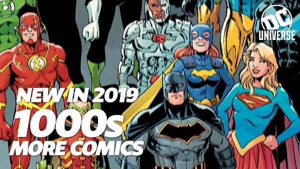 DC Universe | The Ultimate DC Membership | Comics Expansion Announcement