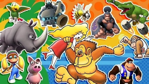 Super Smash Bros. Ultimate is Throwing a Kong Family Reunion
