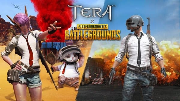 Tera and PUBG Will Start a Collaboration Event on March 5th