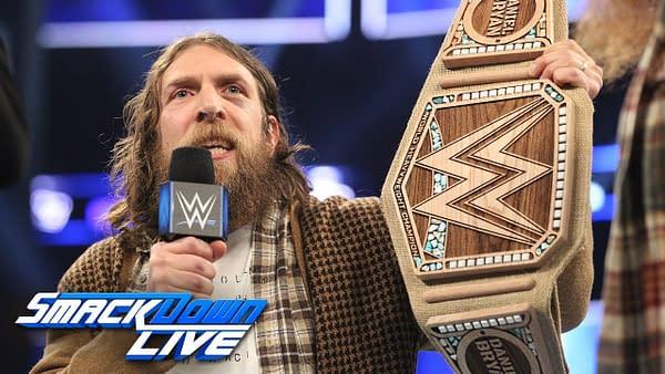 Daniel Bryan dumps WWE Championship for eco-friendly title: SmackDown LIVE, Jan. 29, 2018