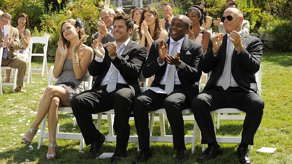 A scene from PSYCH (Image: NBCUniversal)