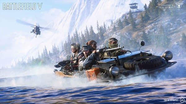 Battlefield V Drops a New Trailer for the Firestorm Battle Royale Mode