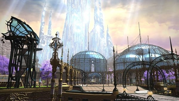 Final Fantasy XIV: Shadowbringers' Crystarium is from a 2005 Tech Demo