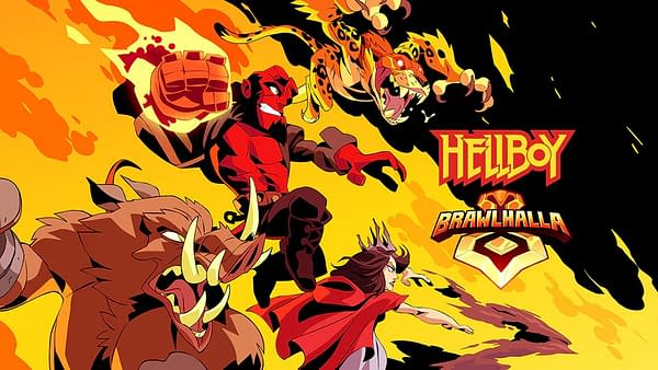Ubisoft Adds Four Hellboy Characters to Brawlhalla