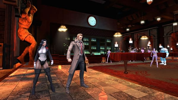 Justice League Dark Available NOW for DC Universe Online