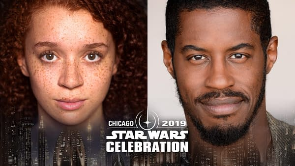 Star Wars Celebration: Erin Kellyman (Enfys Nest), Ahmed Best (Jar Jar Binks) Head to Chicago