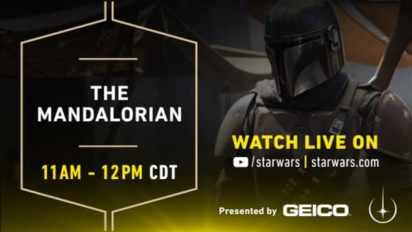 LIVE from the 'The Mandalorian' at Star Wars Celebration Chicago [SWCC]
