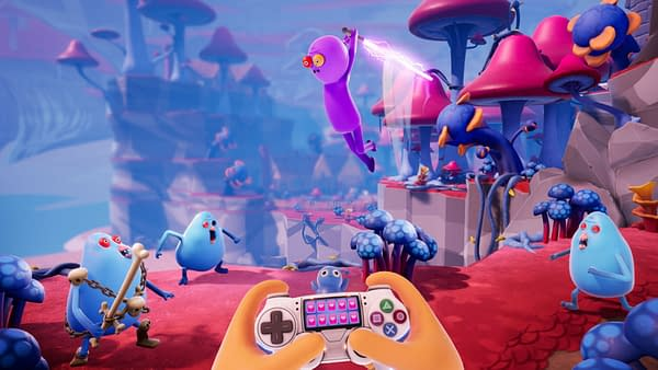 Trover Saves The Universe Was The Best WTF Game at PAX East 2019