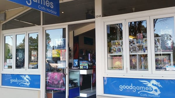 Good Games – Coffs Harbour, Previously Sawtell Books & Comics, to Close