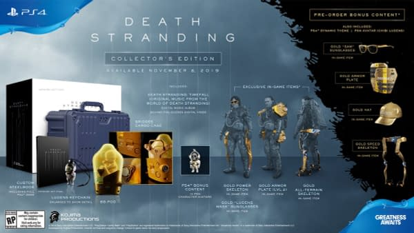 Death Stranding Releases a New Extended Trailer, Photos, and More