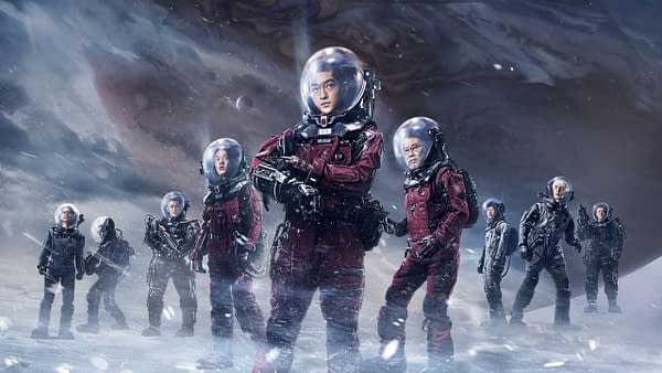 Netflix Releases The Wandering Earth Without Announcement or Fanfare